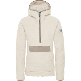 The North Face Campshire Pullover Hoodie Women vintage white/silt grey